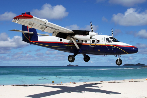 Twin Otter Divi Fly Curacao