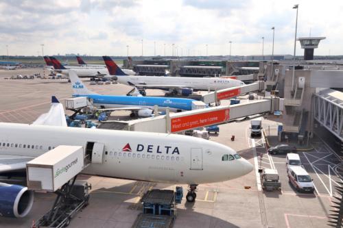 KLM Delta Luchtvaartschema Bonaire