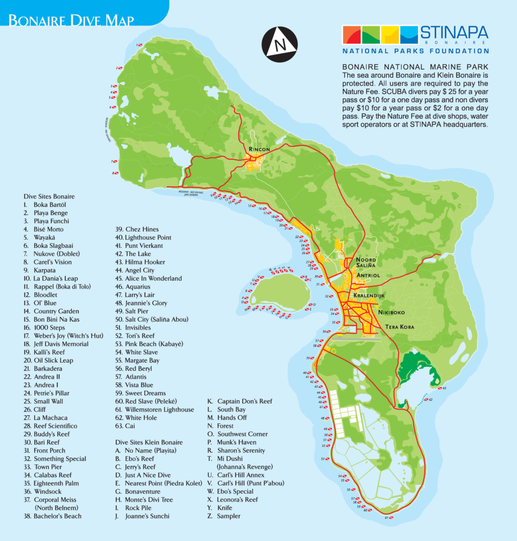 Bonaire Dive Sites